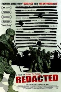 Caratula, cartel, poster o portada de Redacted