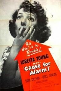 Caratula, cartel, poster o portada de Motivo de alarma