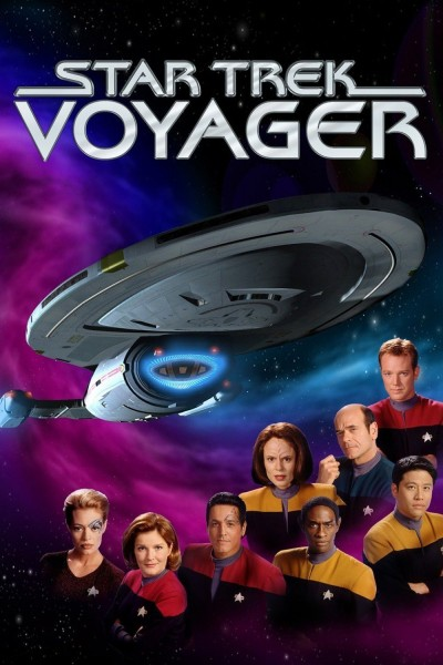 Caratula, cartel, poster o portada de Star Trek: Voyager