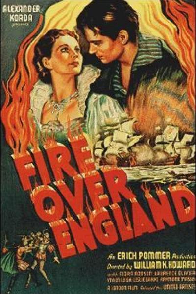 Caratula, cartel, poster o portada de Inglaterra en llamas