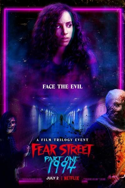 Caratula, cartel, poster o portada de La calle del terror. Parte 1: 1994