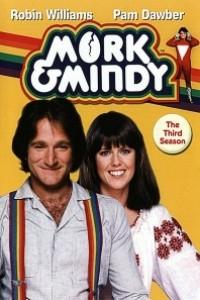 Caratula, cartel, poster o portada de Mork y Mindy