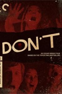 Caratula, cartel, poster o portada de Don\'t