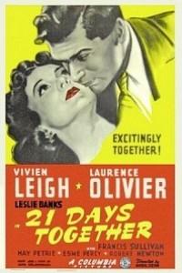 Caratula, cartel, poster o portada de 21 días juntos