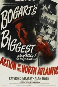 Caratula, cartel, poster o portada de Acción en el Atlántico Norte
