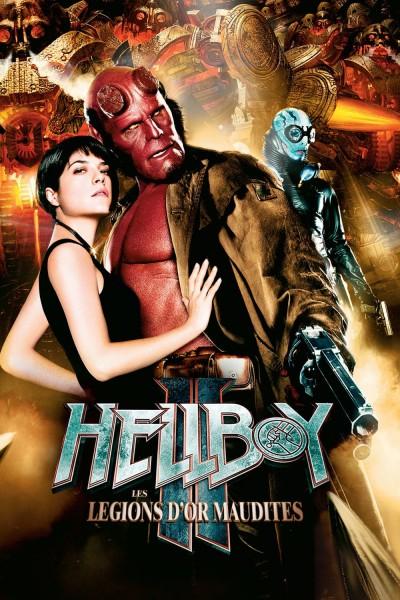 Caratula, cartel, poster o portada de Hellboy 2: El ejército dorado