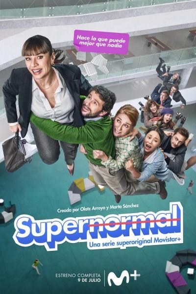 Caratula, cartel, poster o portada de Supernormal