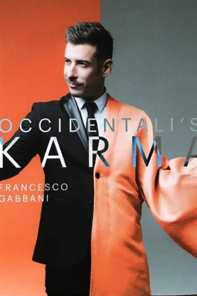 Caratula, cartel, poster o portada de Francesco Gabbani: Occidentali\'s Karma (Vídeo musical)