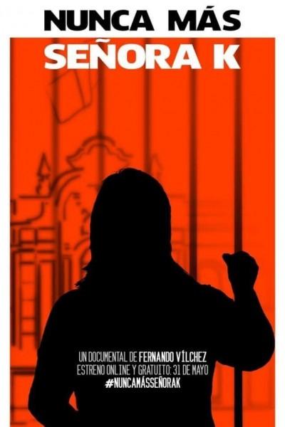 Caratula, cartel, poster o portada de Nunca más señora K