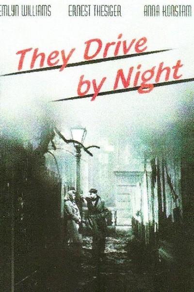 Caratula, cartel, poster o portada de They Drive by Night