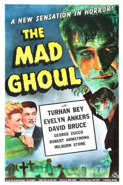Caratula, cartel, poster o portada de The Mad Ghoul