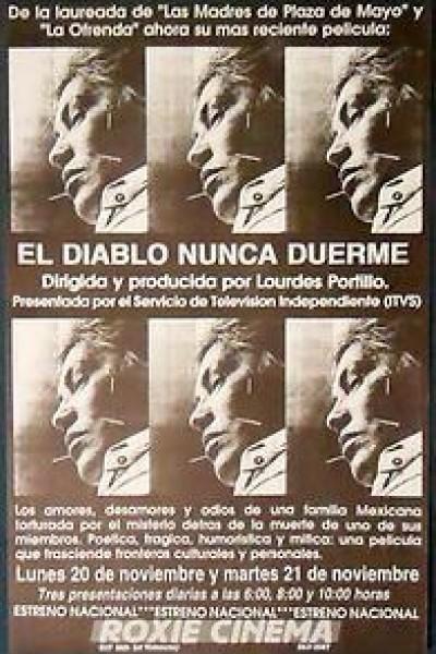 Caratula, cartel, poster o portada de El diablo nunca duerme