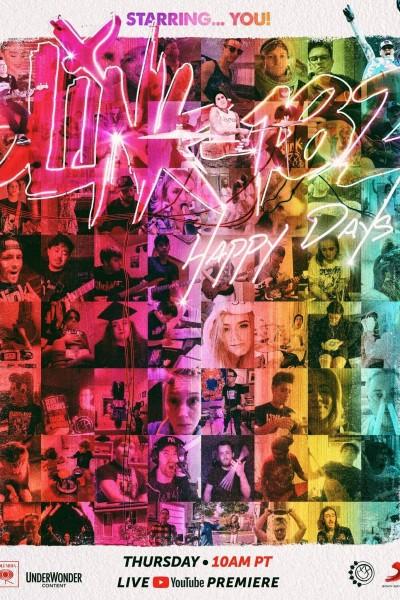 Caratula, cartel, poster o portada de Blink-182: Happy Days (Vídeo musical)