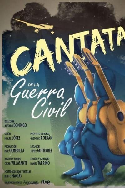 Caratula, cartel, poster o portada de Cantata de la Guerra Civil