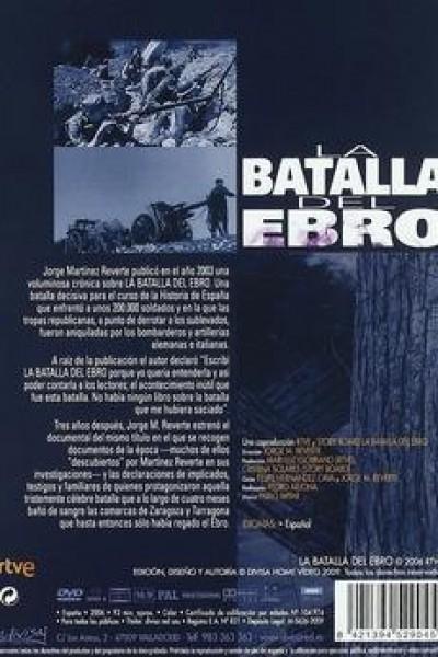 Caratula, cartel, poster o portada de La batalla del Ebro