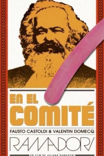 Caratula, cartel, poster o portada de En el comité. Les hijes de Marx y la Cola-Cola