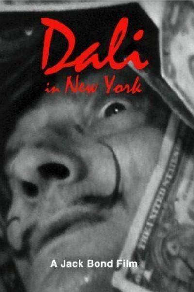 Caratula, cartel, poster o portada de Dalí en Nueva York