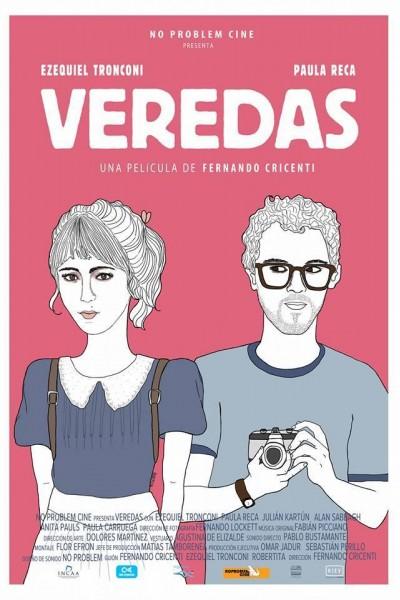 Caratula, cartel, poster o portada de Veredas