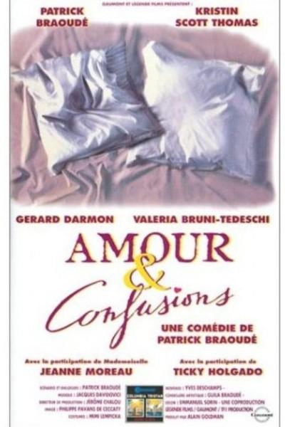 Caratula, cartel, poster o portada de Amour & confusions