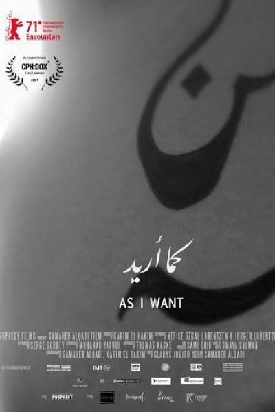 Caratula, cartel, poster o portada de As I Want