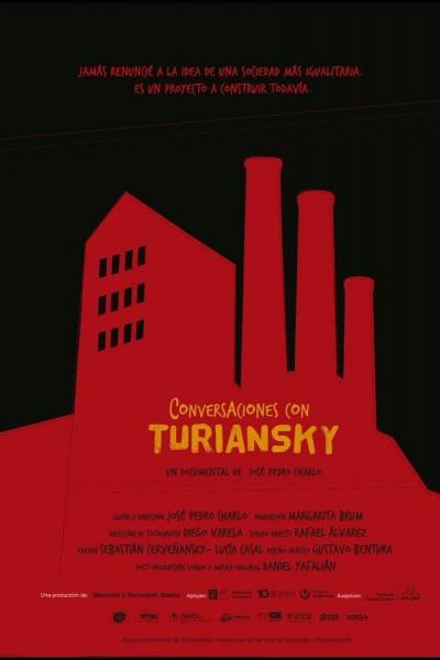 Caratula, cartel, poster o portada de Conversaciones con Turiansky