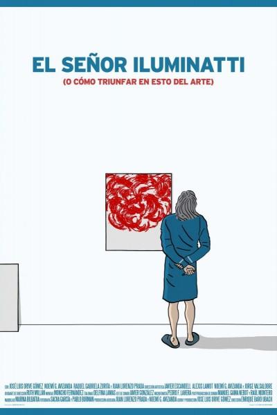 Caratula, cartel, poster o portada de El señor Iluminatti (o cómo triunfar en esto del arte)