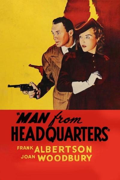 Caratula, cartel, poster o portada de Man from Headquarters