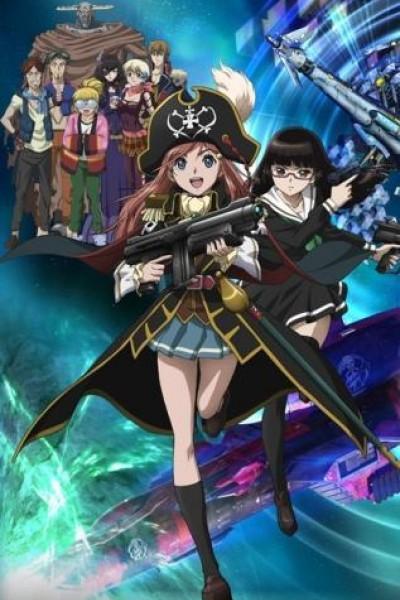 Caratula, cartel, poster o portada de Bodacious Space Pirates