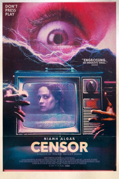 Caratula, cartel, poster o portada de Censor