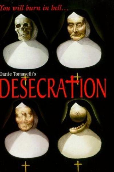 Caratula, cartel, poster o portada de Desecration