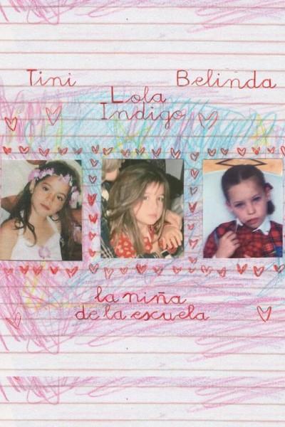 Caratula, cartel, poster o portada de Lola Indigo, Tini, Belinda: Niña de la escuela (Vídeo musical)