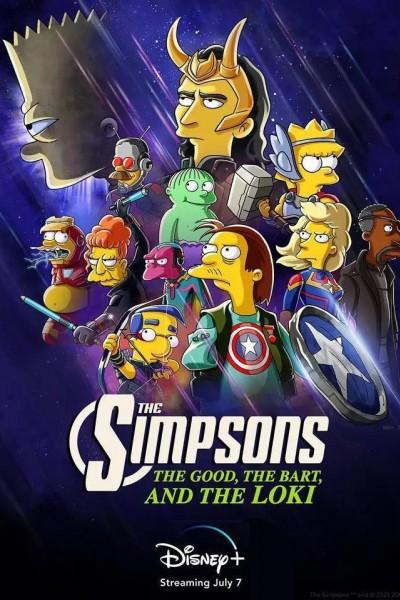 Caratula, cartel, poster o portada de Los Simpson: La buena, el malo y Loki