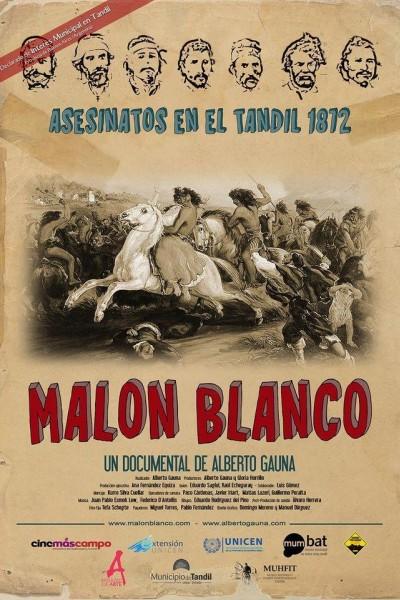 Caratula, cartel, poster o portada de Malón blanco