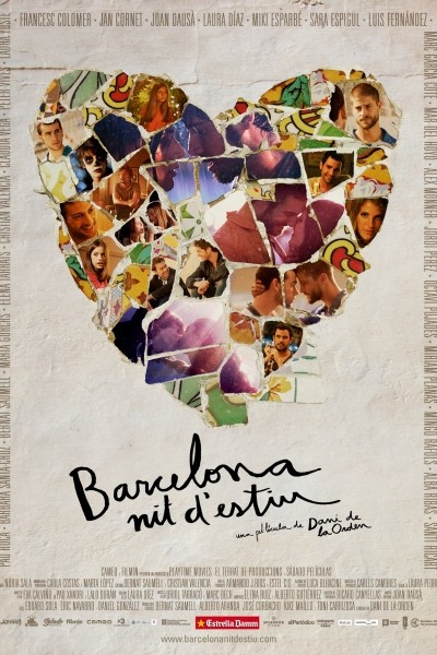 Caratula, cartel, poster o portada de Barcelona, noche de verano
