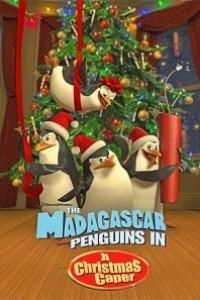 Caratula, cartel, poster o portada de Los pingüinos de Madagascar en Travesura navideña