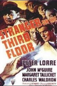 Caratula, cartel, poster o portada de El extraño del tercer piso