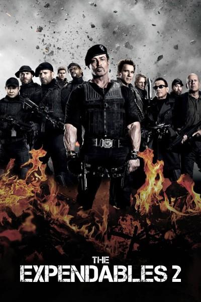 Caratula, cartel, poster o portada de Los mercenarios 2