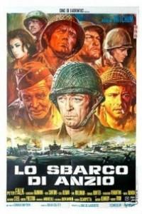 Caratula, cartel, poster o portada de La batalla de Anzio