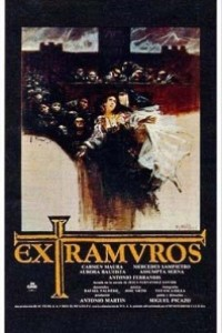 Caratula, cartel, poster o portada de Extramuros