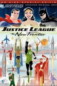 Caratula, cartel, poster o portada de Liga de la Justicia: La nueva frontera