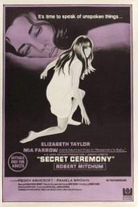 Caratula, cartel, poster o portada de Ceremonia secreta