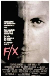Caratula, cartel, poster o portada de F/X, efectos mortales