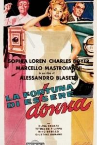 Caratula, cartel, poster o portada de La suerte de ser mujer