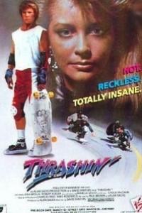 Caratula, cartel, poster o portada de Trashin\': Patinar o morir