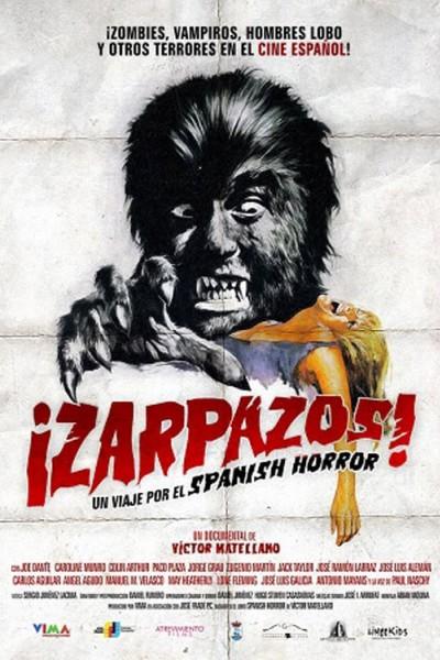 Caratula, cartel, poster o portada de ¡Zarpazos! Un viaje por el spanish horror