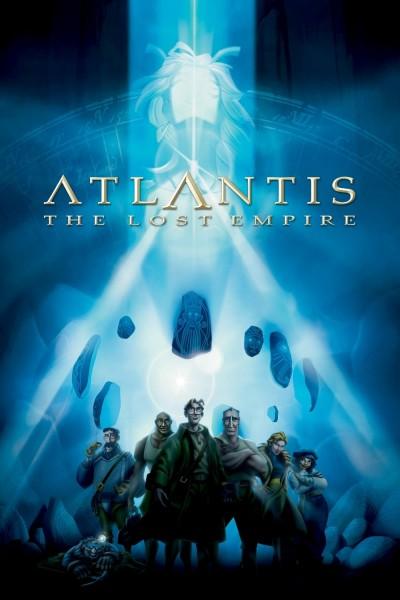 Caratula, cartel, poster o portada de Atlantis: El imperio perdido