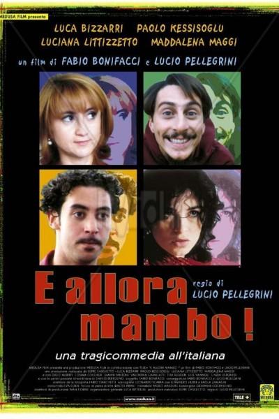 Caratula, cartel, poster o portada de E allora mambo!
