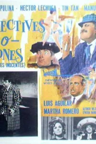 Caratula, cartel, poster o portada de Detectives o ladrones