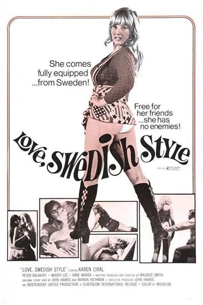 Caratula, cartel, poster o portada de Love, Swedish Style
