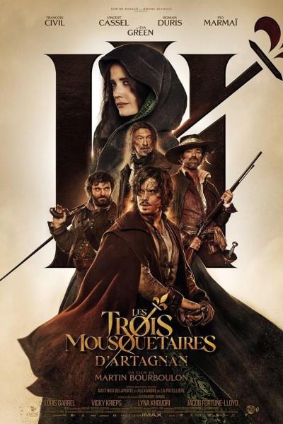 Caratula, cartel, poster o portada de Les Trois Mousquetaires: D\'Artagnan